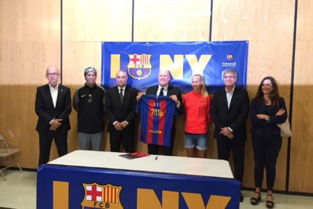 FC Barcelona Foundation Debuted Its FutbolNet NY Program