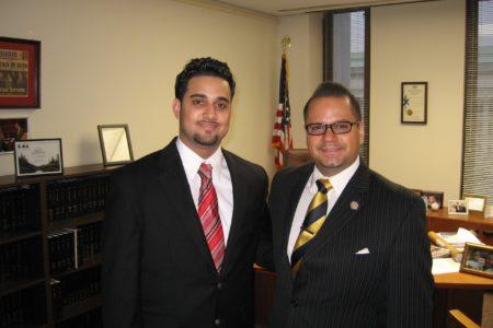 Bronx Student Interns For Sen. Serrano