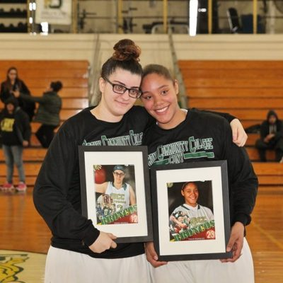 Women's Basketball 2nd Year Players Celebrated