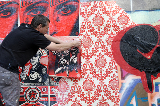 Shepard Fairey & Cope2 In Bronx