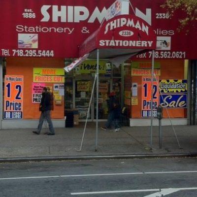 Bronx Stationery Store Closing