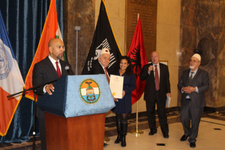 BP Diaz Hosts Albanian Heritage Celebration