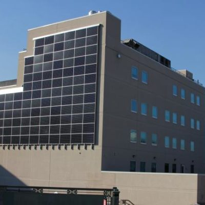 NY Solar Provider Quixotic Systems Installs Solar Wall In Bronx