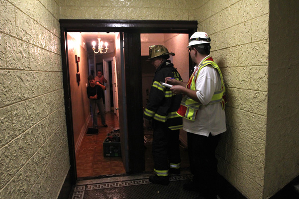 Fire Leaves Tenants With Holes In The Walls