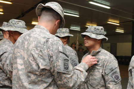 Staff Sgt. Abraham Rodriguez Awarded Combat Action Badge