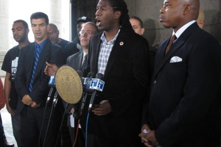 "City Officials Demand Federal Investigation On ""Stop & Frisk Policy"""