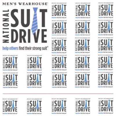 Men's Wearhouse National Suit Drive