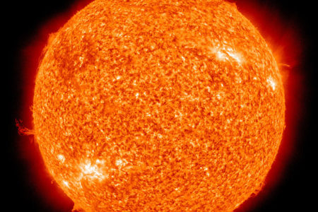 The Sun Is Switching Poles