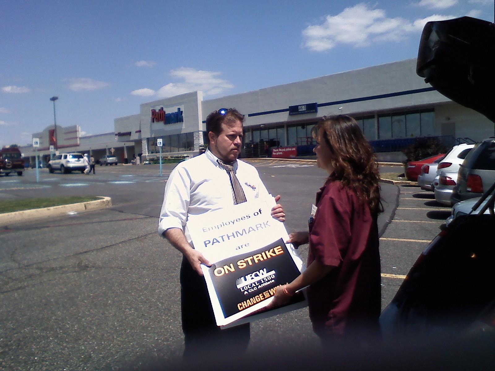 Supermarket Workers Authorize Strike