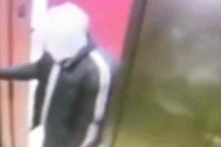 Suspect Slashed Woman Inside Elevator