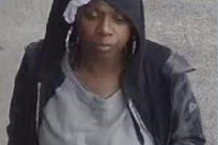 Female Robbery Suspect Sought