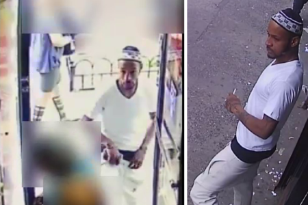 A Robbery Suspect Wanted