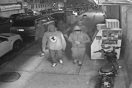 Help Identify A Robbery Sextet