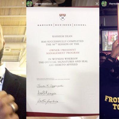 From Bronx To Harvard: Swizz Beatz Just Graduated From Business School