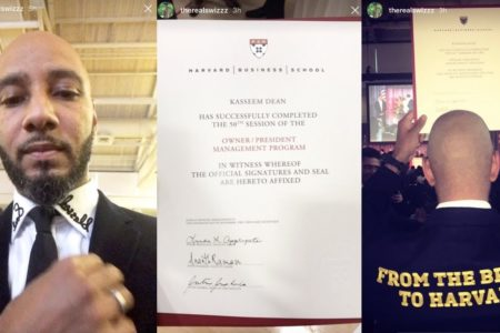 From Bronx To Harvard: Swizz Beatz Just Graduated From Business School