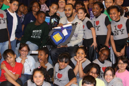 Swizz Beatz Donates $50K To School