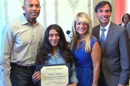 Tiffany Tavarez Gets Mariano Rivera Scholarship