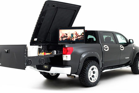 The Tundra Midnight Rider Tailgater