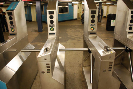 Bronx Man With Loaded Gun Jumps Subway Turnstile