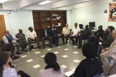 """""""Unitas"""" Hosts Rwandan & Ugandan Peacemaker Delegation"""