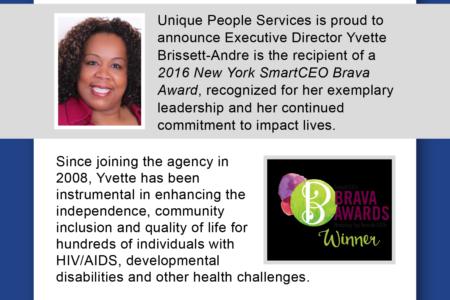 Nonprofit CEO Brissett-Andre Among 2016 Brava Award Honorees