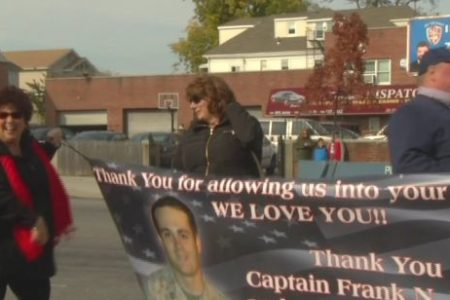 Veterans Day Parade Held In Throgs Neck