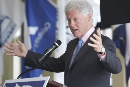 Bill Clinton At SUNY Maritime