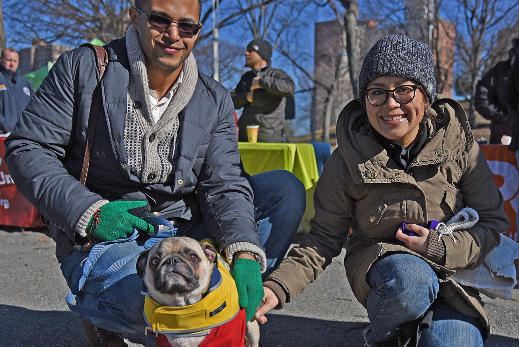 ASPCA Warms Up South Bronx With Winter Coat Drive