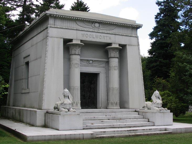 Woolworth mausoleum.