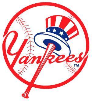 New York Yankees logo.