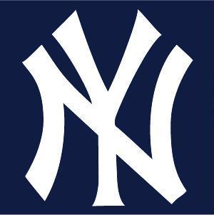 New York Yankees cap insignia.