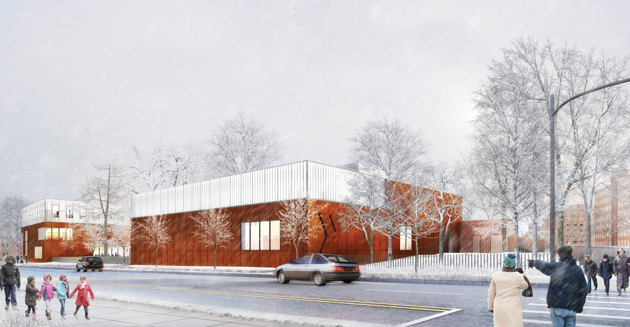 Renderings Revealed For YMCA At 1250 East 229th Street, Edenwald, Bronx