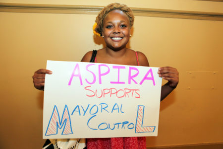 Hundreds Support Mayoral Control