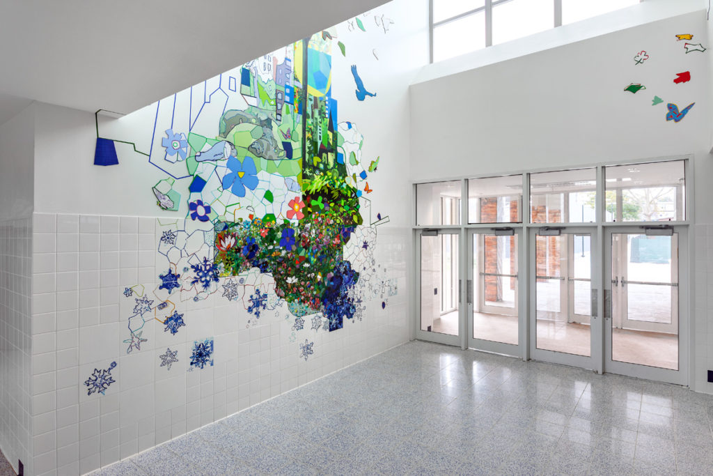 Sandy Litchfield Artwork At PS 14, Bronx, Honored As One Of The Nation's 50 Best Public Arts Projects In 2018