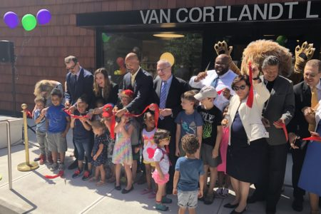 The NYPL Cuts The Ribbon On A New, Bigger Van Cortlandt Branch In Bronx
