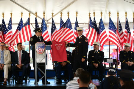 Blessing Of The FDNY Marine Fleet
