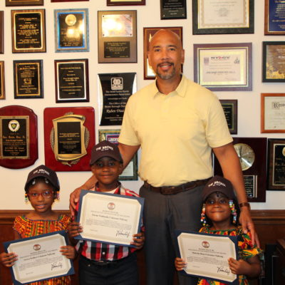 Siblings Zayne, Grace & Melodie Receive Community Service Awards