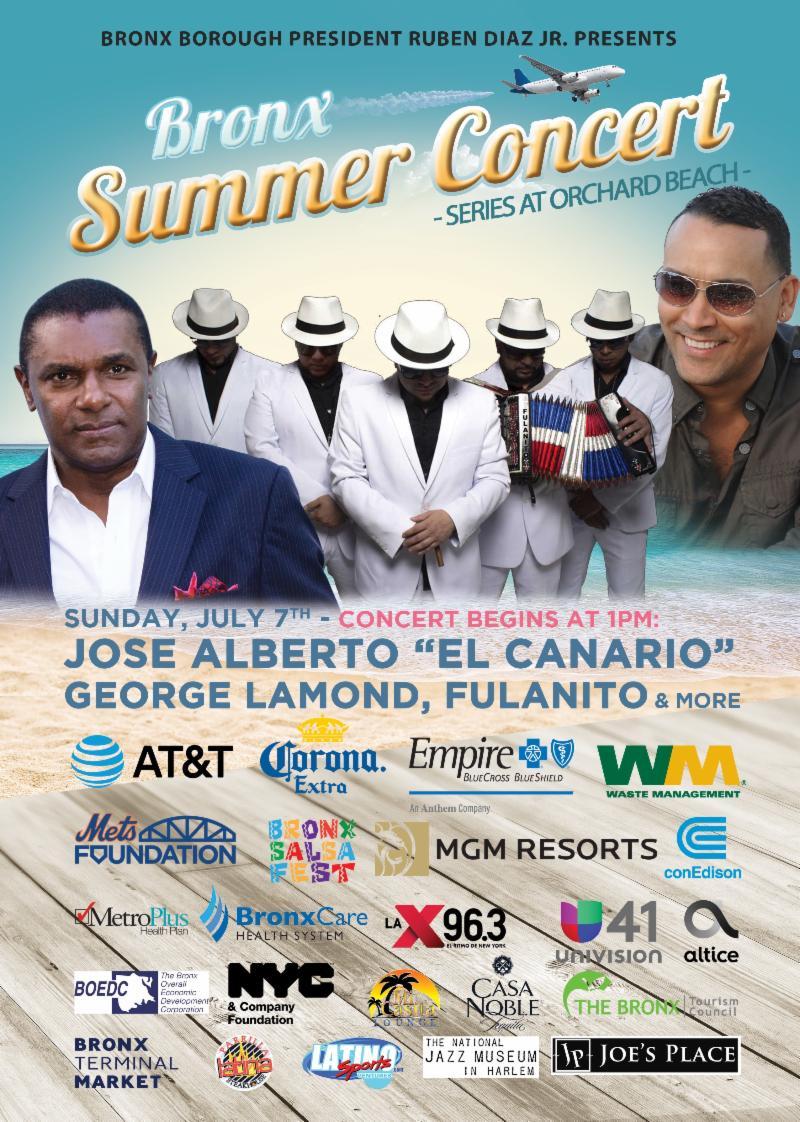 Bronx Summer Concert Series 2019 Lineup
