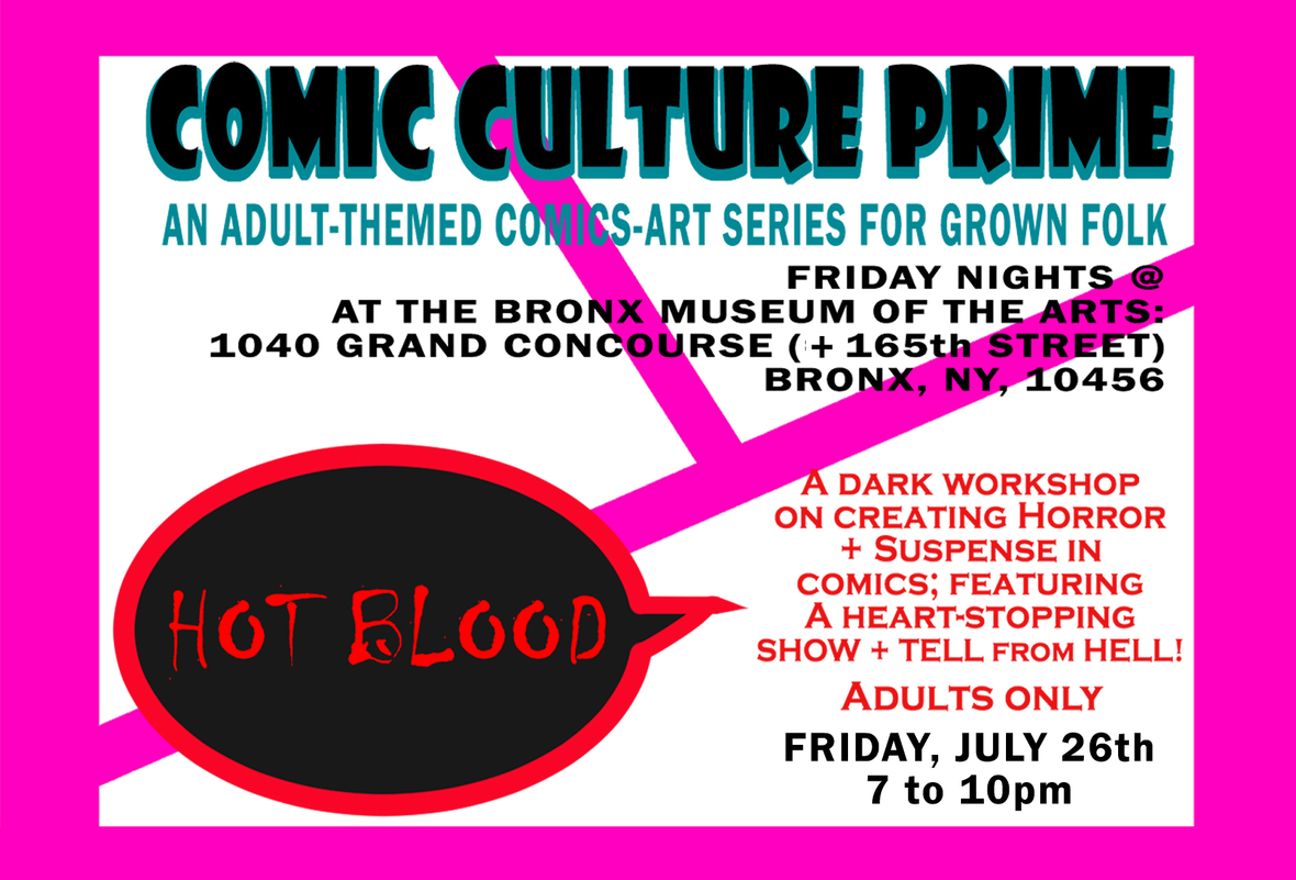 Comic Culture Prime: Hot Blood