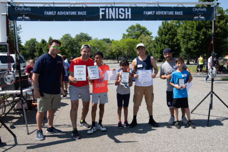 "City Parks Foundation Seeks Participants For Its Free ""Family Adventure Races"" This Summer"