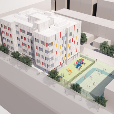 NYC School Construction Authority Breaks Ground On New P.S. 33 Annex In Bronx