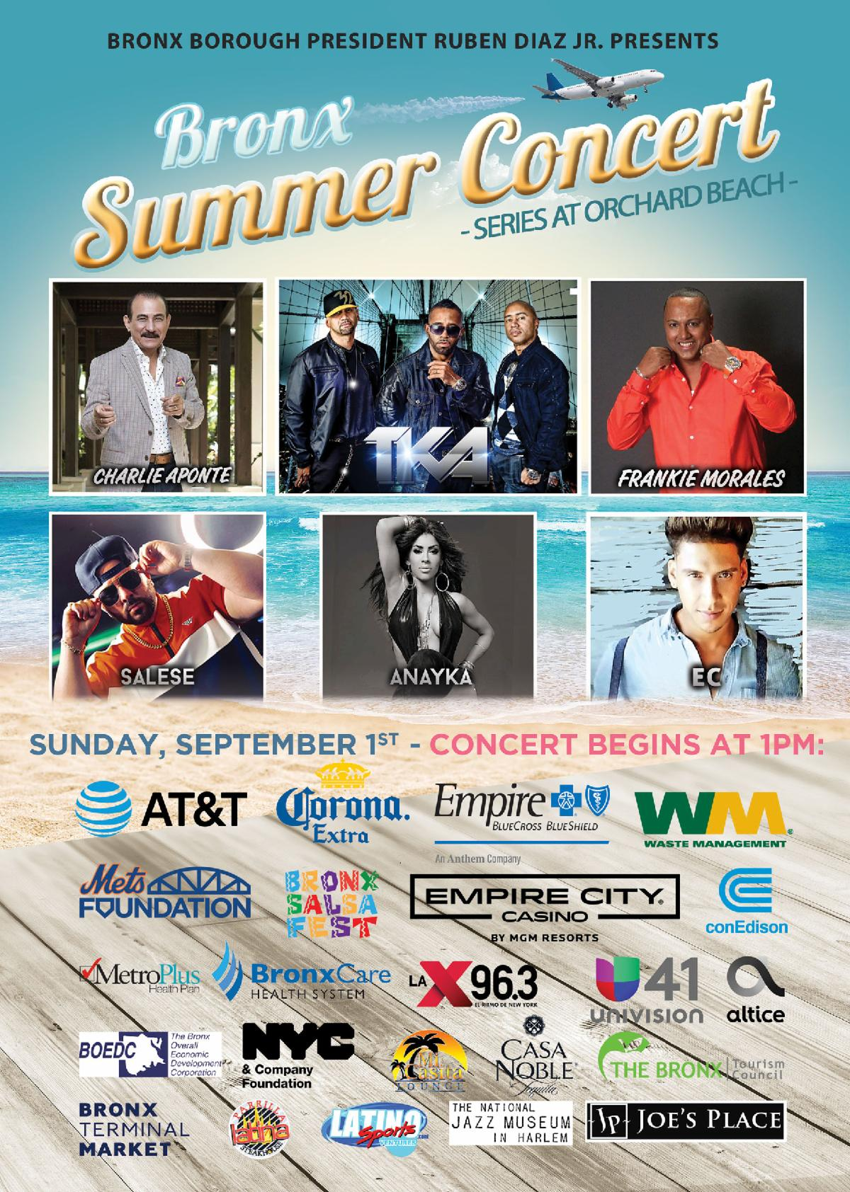 The Bronx Summer Concert Series 2019 Grand Finale