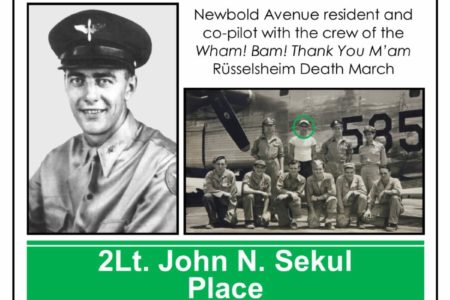 2Lt. John N. Sekul Place Street Naming Celebration
