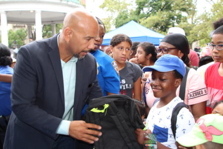 "Annual ""Back To School Literacy & Health"" Event"