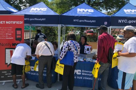 100 Go Bags Given Away At A Bronx Emergency Preparedness Event