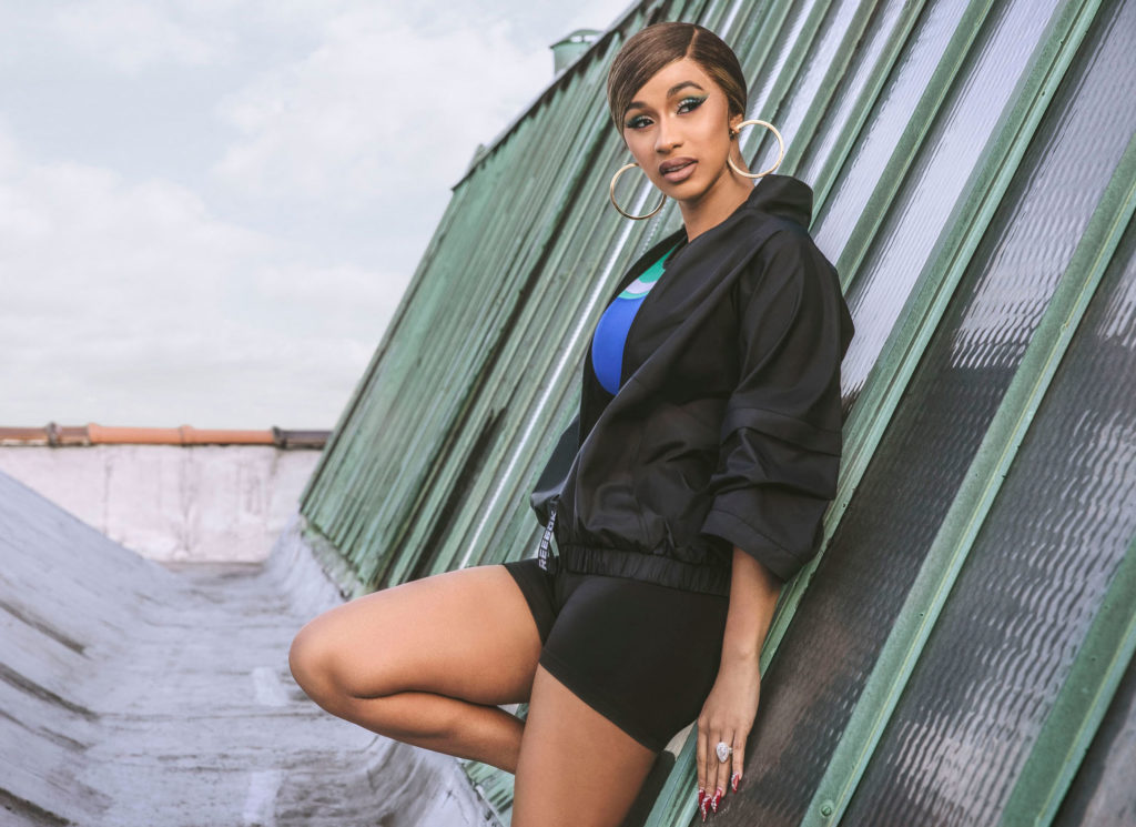 Cardi B Talks Style Inspirations And Growing Up In Bronx For Reebok's New Ad Campaign