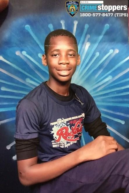 Chukwunyere Onuoha, 14, Missing