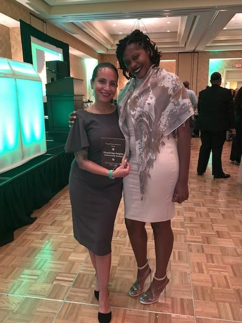 Changing Futures Therapist Accepts National Award For Empowerment From Omega Phi Beta Sorority, Inc.