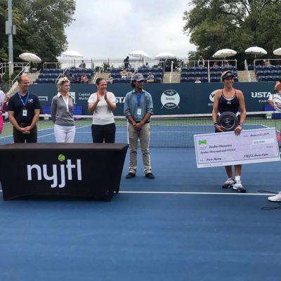 María José Marítnez Sánchez & Darija Jurak: The 2019 NYJTL Bronx Open Doubles Champions