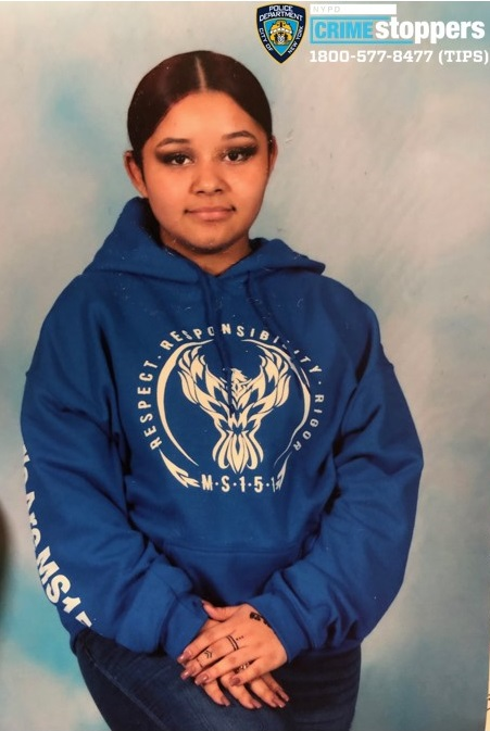 Najah Rodriguez, 14, Missing